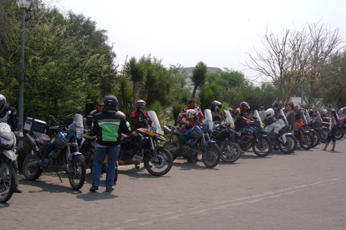 Adventure Ride Departure 2011