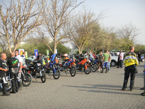 Adventure Ride Departure 2012